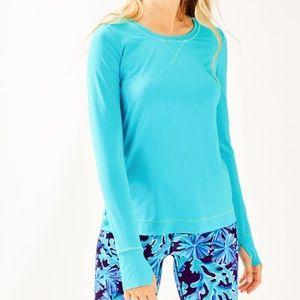 Lilly Pulitzer Renay sunguard light blue upf50